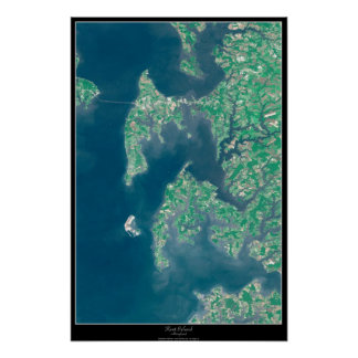 Kent Island, Maryland satellite poster