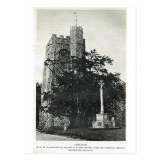 Kent, jardín de Inglaterra, iglesia parroquial de  Tarjeta Postal