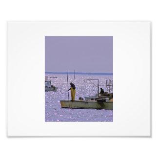 Kent Narrows Oyster Tonger Photo Print