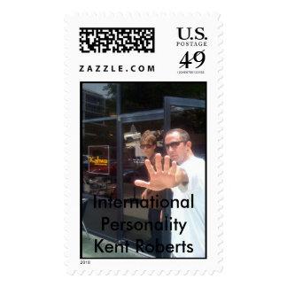 Kent Roberts USPS Postage Stamp
