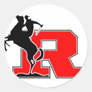 Kent  Rough Rider Classic Round Sticker