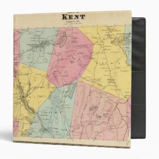 Kent, Town Vinyl Binder