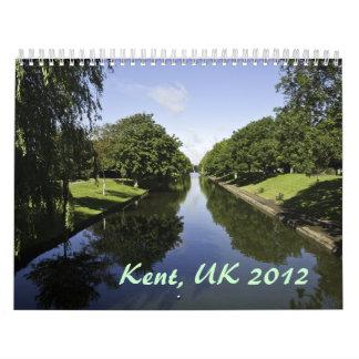 Kent, UK 2012 Calendar