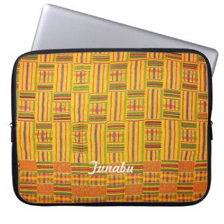 Kente Cloth 15 inch Laptop Case