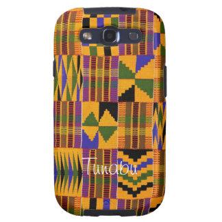 Kente Cloth Cover for Samsung Galaxy S4 Samsung Galaxy SIII Case