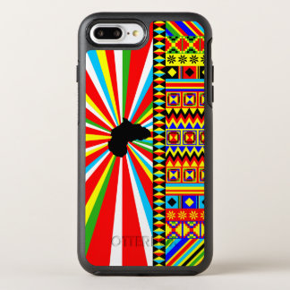 Kente Cloth Pattern African Print OtterBox Symmetry iPhone 7 Plus Case