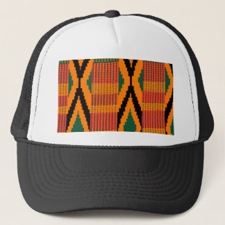 Kente Pattern Trucker Hat