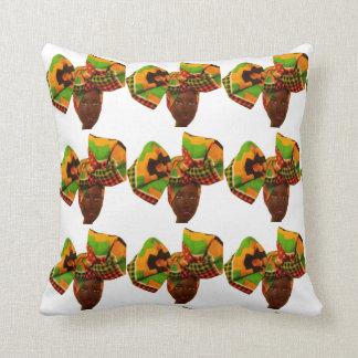 Kente Print Head Wrap Pillow