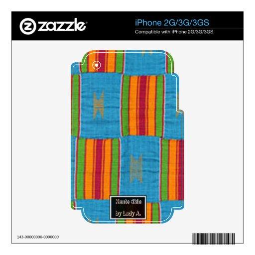 kenteskin iPhone 3G calcomanía
