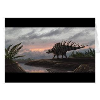 Kentrosaurus Blank Card