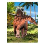 Kentrosaurus del dinosaurio tarjeta postal