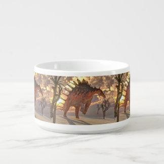 Kentrosaurus dinosaur - 3D render Bowl