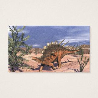 Kentrosaurus dinosaur - 3D render Business Card