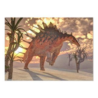 Kentrosaurus dinosaur - 3D render Card