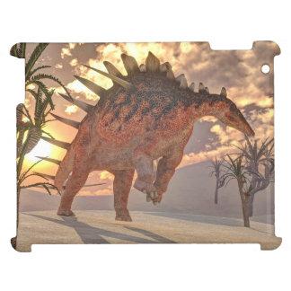 Kentrosaurus dinosaur - 3D render iPad Covers
