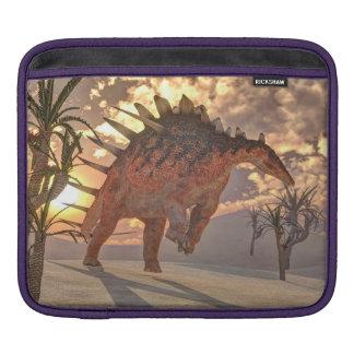 Kentrosaurus dinosaur - 3D render Sleeve For iPads