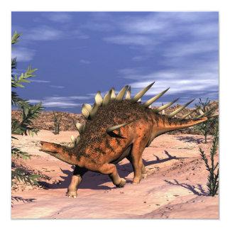 Kentrosaurus dinosaur card