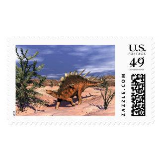 Kentrosaurus dinosaur postage