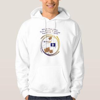 Kentucky 2010 Tax Day Tea Party Hooded Sweatshirt
