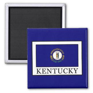 Kentucky 2 Inch Square Magnet