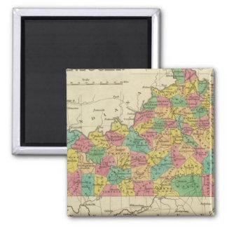 Kentucky 6 fridge magnet