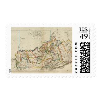 Kentucky 6 stamp