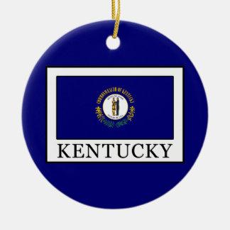Kentucky Adorno Navideño Redondo De Cerámica