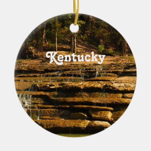Kentucky Adorno Redondo De Cerámica