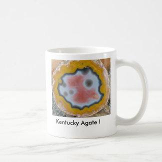 Kentucky Agate ! Pink center Mug