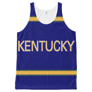 Kentucky All-Over Printed Unisex Tank