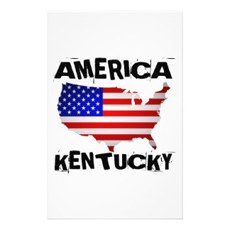 KENTUCKY AMERICAN STATE DESIGNS STATIONERY