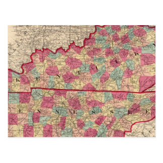 Kentucky and Tennessee 2 Post Cards