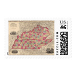 Kentucky and Tennessee 2 Stamp
