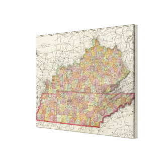 Kentucky and Tennessee 5 Canvas Print
