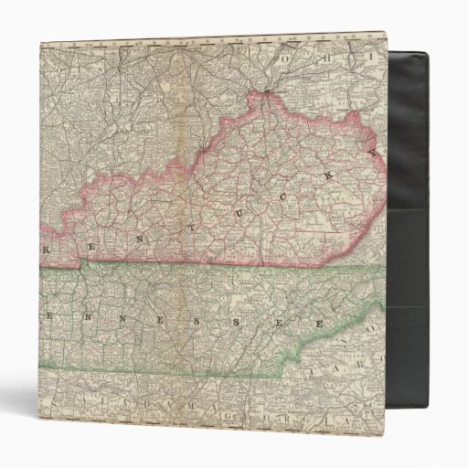 Kentucky and Tennessee 7 Binder