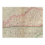 Kentucky and Tennessee 7 Post Card
