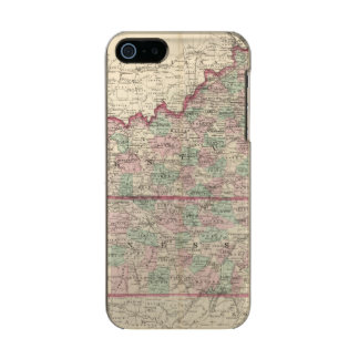 Kentucky and Tennessee Metallic iPhone SE/5/5s Case