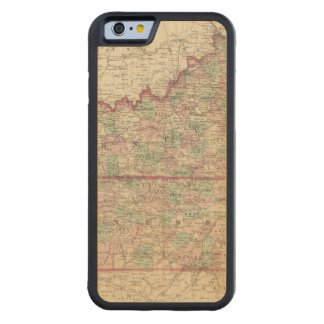 Kentucky and Tennessee Carved® Maple iPhone 6 Bumper