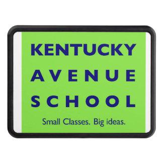 Kentucky Avenue School Rectangular Hitch Cover