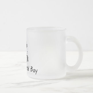 Kentucky Baad Boy Frosted Glass Coffee Mug