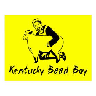 Kentucky Baad Boy Postcard