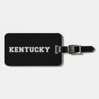 Kentucky Bag Tag