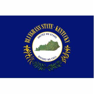 Kentucky Banner Keychain Cut Out