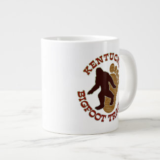 Kentucky Bigfoot Tracker Giant Coffee Mug