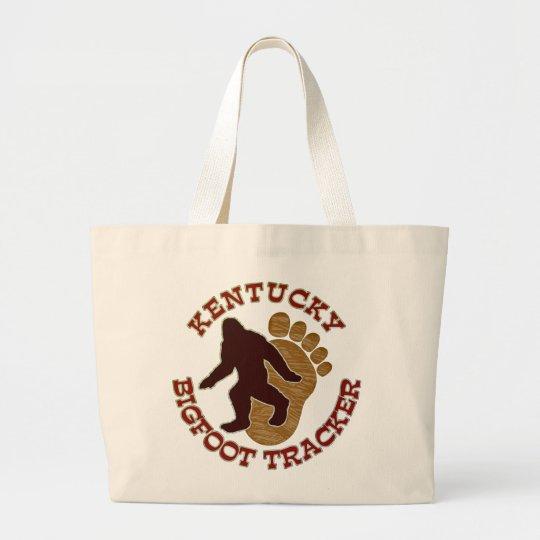 Kentucky Bigfoot Tracker Large Tote Bag