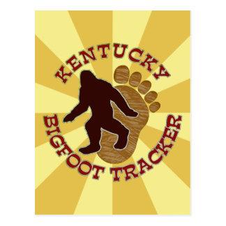 Kentucky Bigfoot Tracker Postcard