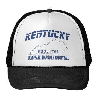 Kentucky Bluegrass Bourbon Basketball UScustomInk Trucker Hat