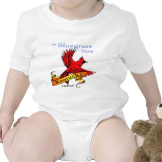 Kentucky Bluegrass State Cardinal T Shirts