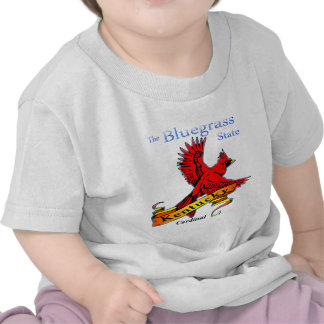 Kentucky Bluegrass State Cardinal T-shirts