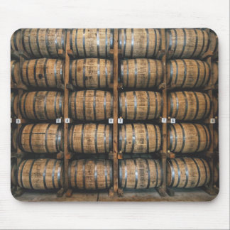Kentucky Bourbon Barrels Mouse Pad